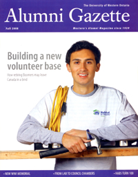 Healing Wounds - UWO Alumni Gazette, Fall 2008
