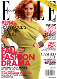 Skin Saviours – ELLE Canada – September, 2011