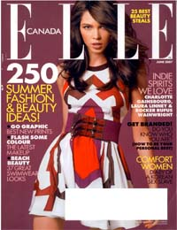 Beauty News – Elle Canada June 2007