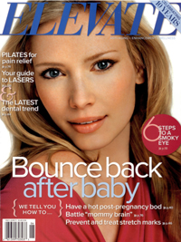 Pregnancy Skin Care – Elevate Magazine - May/June 2011