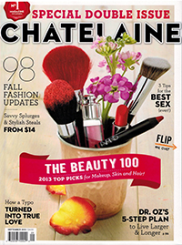 Chatelaine Magazine - September, 2013