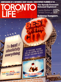 Best of City - Toronto Life - Best of the City, August 2010