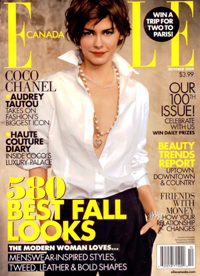 Serums - ELLE Canada Magazine - October 2009