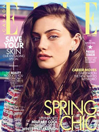 ELLE Canada: Laser Peel - April 2015