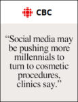 CBC: Social media and cosmetic procedures | February 22, 2018