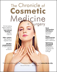 Chronicle of Cosmetic Medicine + Surgery, Autumn 2019